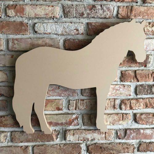 Equestrian Board Haflinger