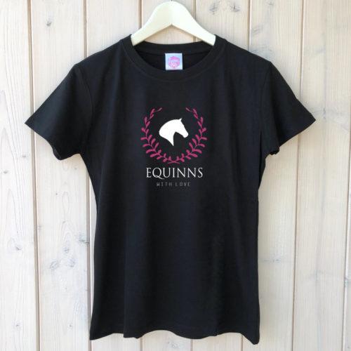 Tričko Equinns Victory černé